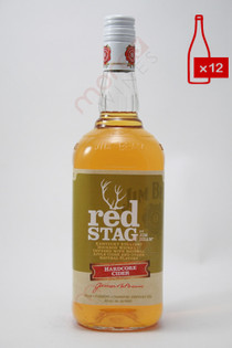 Jim Beam Red Stag Hardcore Cider 1L (Case of 12) FREE SHIPPING $12.99/Bottle