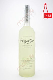 Cougar Juice Cucumber Lime Extraordinary Cocktail 750ml (Case of 12) FREE SHIPPING $9.99/Bottle
