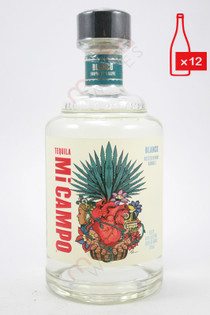 Mi Campo Blanco  Tequila 750ml (Case of 12) FREE SHIPPING $24.99/Bottle