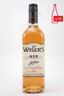 .P. Wiser's Rye Blended Canadian Whisky 750ml (Case of 12) FREE SHIPPING $19.99/Bottle