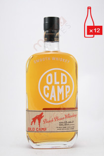Old Camp Peach Pecan Whiskey 750ml (Case of 12) FREE SHIPPING $19.99/Bottle