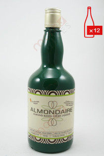 Almondaire Dairy-Free Almond Creme Liqueur 750ml (Case of 12) FREE SHIPPING $14.99/Bottle