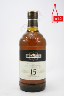 Drambuie 15 Year Old Heather Honey Whisky Liqueur 1L (Case of 12) FREE SHIPPING $39.99/Bottle