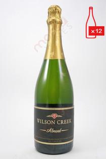 Wilson Creek Almond California Champagne 750ml (Case of 12) FREE SHIPPING $14.99/Bottle