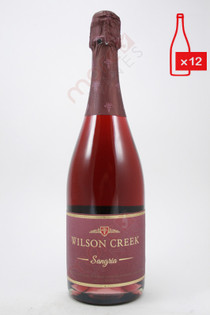 Wilson Creek Sparkling Sangria 750ml (Case of 12) FREE SHIPPING $14.99/Bottle