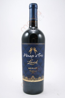 Menage a Trois Lavish Merlot 750ml