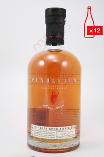 Pendleton Blended Canadian Whisky 750ml (Case of 12) FREE SHIPPING $19.99/