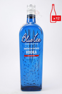 Blue Ice American Potato Vodka 750ml (Case of 12) FREE SHIPPING $19.99/Bottle