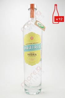Prairie Organic Vodka 750ml (Case of 12) FREE SHIPPING $14.99/Bottle
