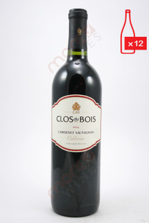 Clos du Bois Cabernet Sauvignon 750ml (Case of 12) FREE SHIPPING $11.99/Bottle