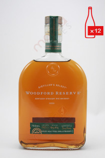 Woodford Reserve Distiller's Select Kentucky Straight Rye Whiskey 750ml (Case of 12) FREE SHIPPING $29.99Bottle