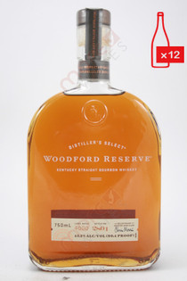 Woodford Reserve Distillers Select Kentucky Straight Bourbon Whiskey 750ml (Case of 12) FREE SHIPPING $29.99/Bottle
