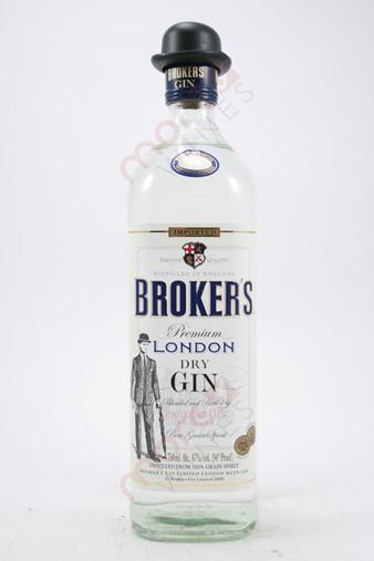 Broker's Premium London Dry Gin 750ml