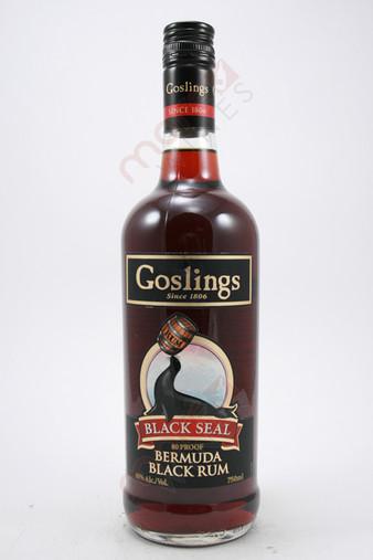 Goslings Black Seal Rum 750ml