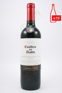 Casillero del Diablo Reserva Cabernet Sauvignon 750ml (Case of 12) FREE SHIPPING $9.99/Bottle