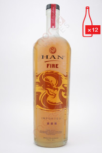 Han Fire Soju Asian Vodka 750ml (Case of 12) FREE SHIPPING $19.99/Bottle