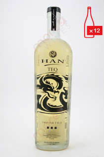 Han Teq Soju Asian Liqueur Infused with Tequila 750ml (Case of 12) FREE SHIPPING $19.99/Bottle