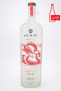 Han Soju Asian Vodka (48 Proof) 750ml (Case of 12)FREE SHIPPING $19.99/Bottle