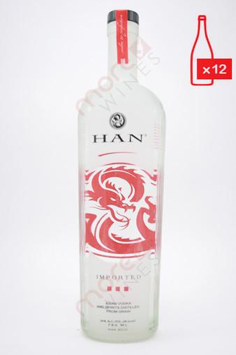 Han Soju Asian Vodka (48 Proof) 750ml (Case of 12)FREE SHIPPING $19.99/Bottle