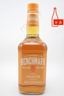 Benchmark Peach Liqueur 750ml (Case of 6) FREE SHIPPING $10.99/Bottle