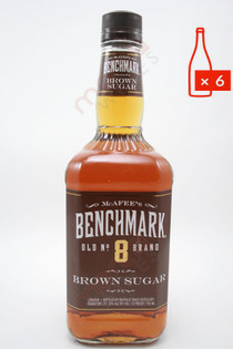 Benchmark Brown Sugar Liqueur 750ml (Case of 6) FREE SHIPPING $10.99/Bottle