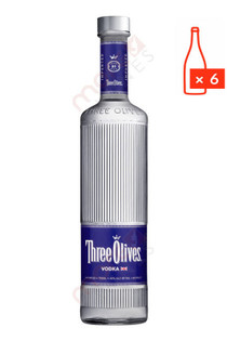 Three Olives Vodka 750ml (Case of 6) FREE SHIPPING $12.99/Bottle