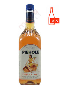 Piehole Pecan Pie Flavored Whiskey 1L (Case of 6) FREE SHIPPING $13.99Bottle