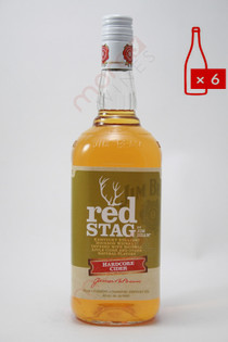 Jim Beam Red Stag Hardcore Cider 1L (Case of 6) FREE SHIPPING $12.99/Bottle