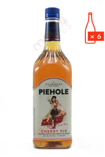 Piehole Cherry Pie Flavored Whiskey 1L (Case of 6) FREE SHIPPING $13.99Bottle