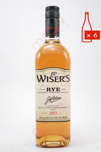 J.P. Wiser's Rye Blended Canadian Whisky 750ml (Case of 6) FREE SHIPPING $19.99/Bottle