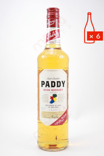 Paddy Old Irish Whiskey 750ml (Case of 6) FREE SHIPPING $19.99/Bottle