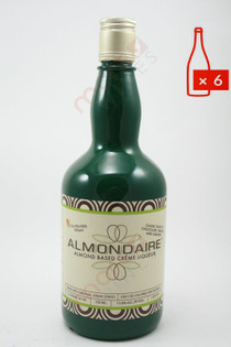 Almondaire Dairy-Free Almond Creme Liqueur 750ml (Case of 6) FREE SHIPPING $14.99/Bottle