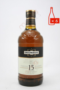 Drambuie 15 Year Old Heather Honey Whisky Liqueur 1L (Case of 6) FREE SHIPPING $39.99/Bottle