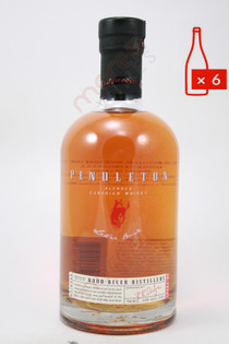 Pendleton Blended Canadian Whisky 750ml (Case of 6) FREE SHIPPING $19.99/Bottle