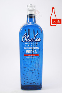 Blue Ice American Potato Vodka 750ml (Case of 6) FREE SHIPPING $19.99/Bottle