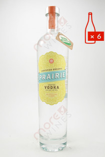 Prairie Organic Vodka 750ml (Case of 6) FREE SHIPPING $14.99/Bottle