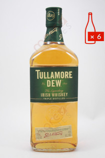 Tullamore Dew Irish Blended Whiskey 750ml (Case of 6) FREE SHIPPING $19.99/Bottle
