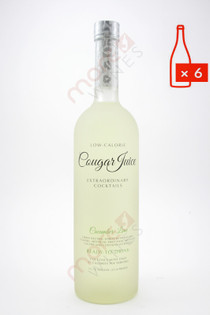 Cougar Juice Cucumber Lime Extraordinary Cocktail 750ml (Case of 6) FREE SHIPPING $9.99/Bottle