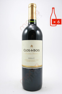 Clos du Bois Sonoma Reserve Merlot 750ml (Case of 6) FREE SHIPPING $11.99/Bottle