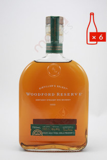 Woodford Reserve Distiller's Select Kentucky Straight Rye Whiskey 750ml (Case of 6) FREE SHIPPING $29.99/Bottle