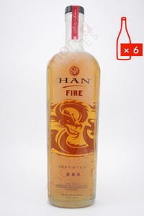 Han Fire Soju Asian Vodka 750ml (Case of 6) FREE SHIPPING $19.99/Bottle