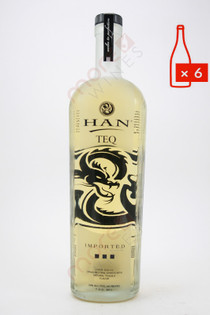 Han Teq Soju Asian Liqueur Infused with Tequila 750ml  (Case of 6) FREE SHIPPING $19.99/Bottle
