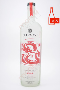 Han Soju Asian Vodka (48 Proof) 750ml (Case of 6)FREE SHIPPING $19.99/Bottle