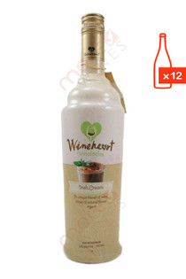 Wineheart Irish Cream 750ml (Case of 12) FREE SHIP $8.99/Bottle