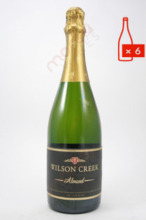 Wilson Creek Almond California Champagne 750ml (Case of 6) FREE SHIPPING $14.99/Bottle
