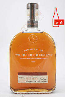 Woodford Reserve Distillers Select Kentucky Straight Bourbon Whiskey 750ml (Case of 6) FREE SHIPPING $29.99/Bottle