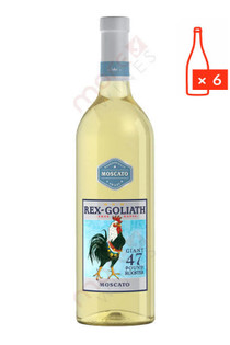 Rex Goliath Mascato 750ml (Case of 6) FREE SHIPPING $8.99/Bottle