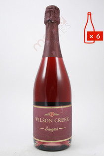 Wilson Creek Sparkling Sangria 750ml (Case of 6) FREE SHIPPING $14.99/Bottle