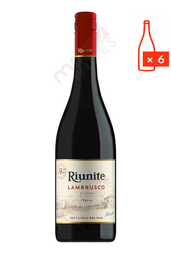 Riunite Lambrusco 750ml (Case of 6) FREE SHIPPING $8.99/Bottle