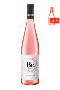 Be. Flirty Pink Moscato 750ml (Case of 6) FREE SHIPPING $8.99/Bottle